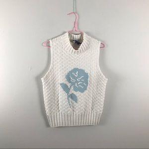 Vintage   sleeveless sweater